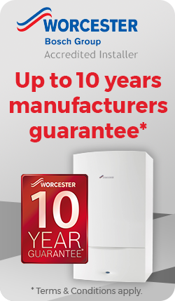 10 Years Worcester Bosch Warranty